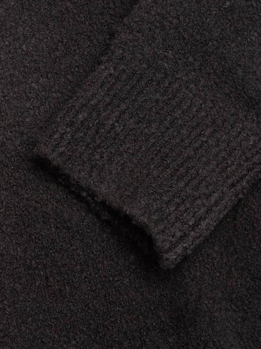 GABBA - ARTIC BOUCLE KNIT BLACK STRIK | GATE 36 Hobro