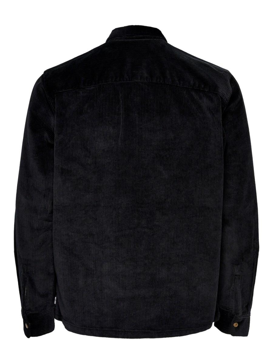 Only & Sons - Onsbraiden Overshirt Black   GATE 36 Hobro