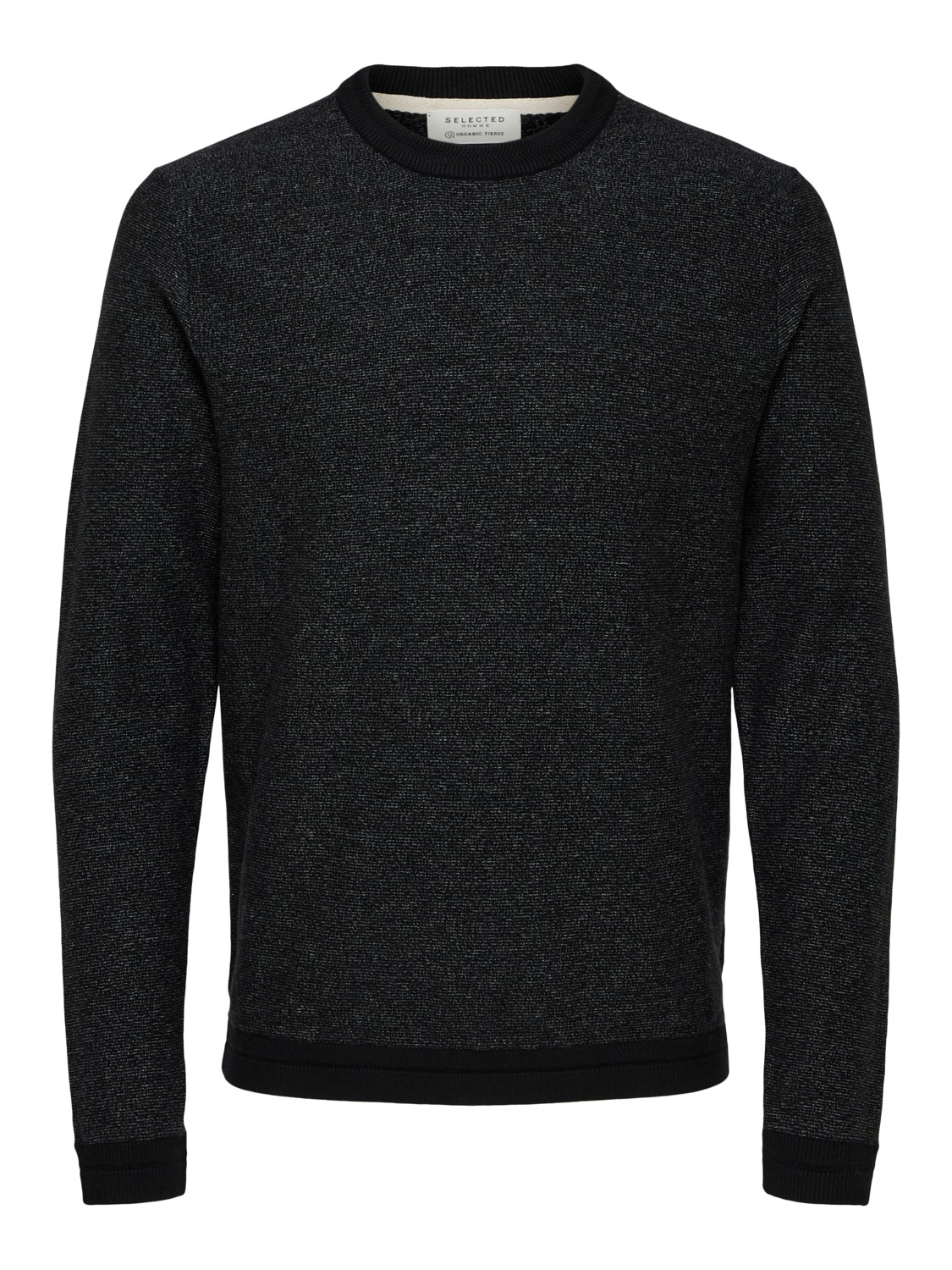 Selected strik - slhjefferson crew neck camp | Gate36 Hobro