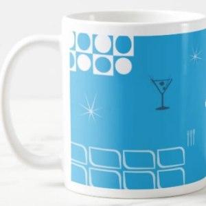 Mid-Century Jet-Age Coffee Mug