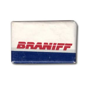 Braniff II Airlines Lavatory Soap Bar
