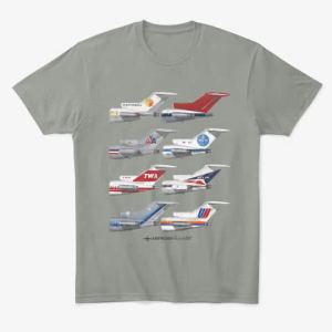 Tails Empennage Tee, Three-holer