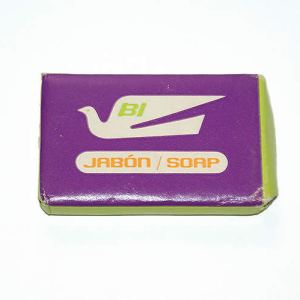 "Braniff International ""Flying Colors"" Lavatory Soap Bar"