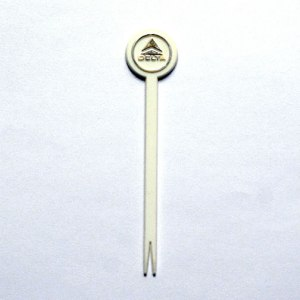 Delta Airlines Stir Pick Stick Swizzle Stir Stick