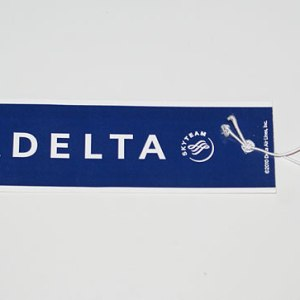 Delta Air Lines Passenger Luggage Tag
