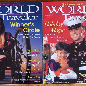 Northwest Airlines NWA In-Flight Magazine – World Traveler