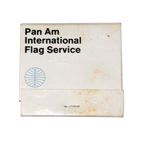 Pan Am Airline International Flag Service Matchbook/Matches