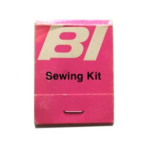 Braniff International Airlines Mending/Sewing Kit