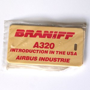 Braniff Airlines A320 Introduction Badge