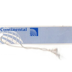 Continental Airlines Luggage Tag