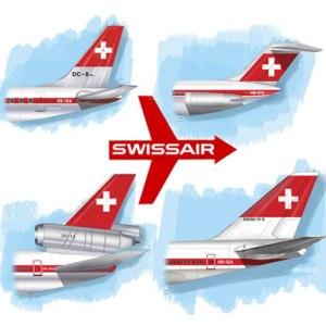 Swissair Legacy Tee