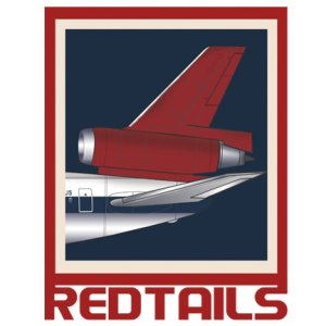 Red Tails Empennage