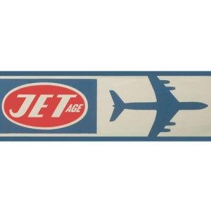 Jet-Age Retro style Tee