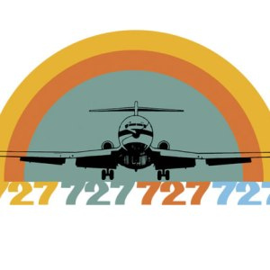 Groovy Classic Airliner Takeoff