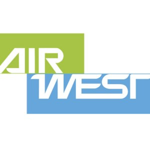 Obsolete Airline Logo, Airwest