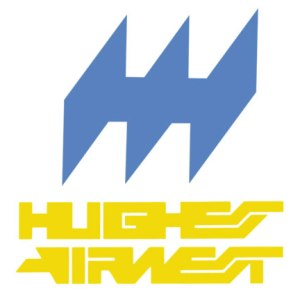 Obsolete Airline Logo, Hughes Airwest