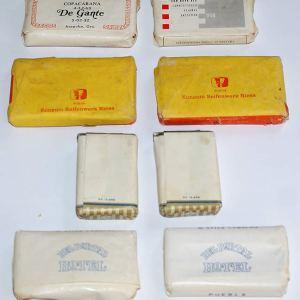 x Lot of Vintage Hotel Soaps