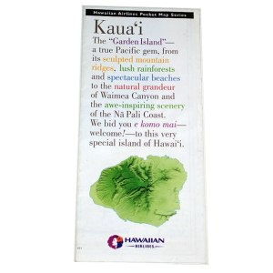 Hawaiian Airlines Visitors Brochure – Kauai