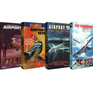 1970's Airport Movie VHS Collection