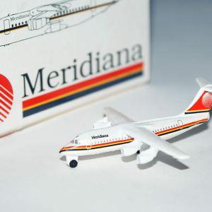 Schabak Meridiana Airlines BAe-146 1:600 Scale Model