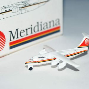 Schabak Meridiana Airlines BAe-146 1:600 Scale Model