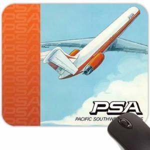 Retro Airline Jet-Age Mouse Pads – PSA