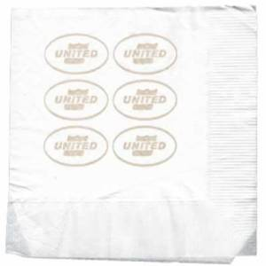 United Airlines 1960s Paper Napkin