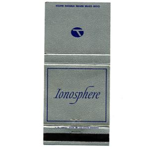 Eastern Airlines IONOSPHERE Matchbook Cover