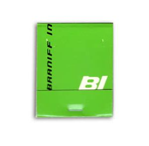 Braniff International Airlines Matchbook/Matches GREEN