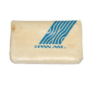 Pan Am White Lavatory Soap Bar