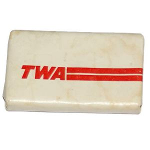 TWA Airlines Lavatory Soap Bar