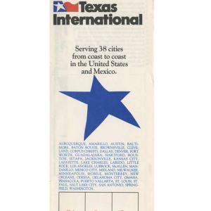 Texas International Boarding Pass Jacket Envelope (38c)