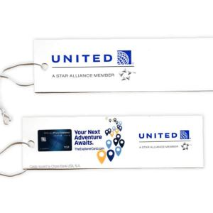 United Airlines Luggage Tag Lot