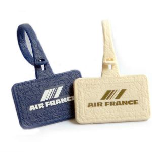 Classic Air France Plastic Luggage Tag – Blue or Beige
