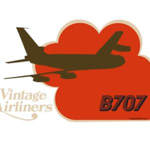 Vintage Airliners Jet-Age Airplane Oh-Seven