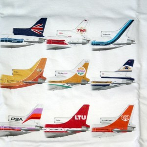 Classic L-1011 Tails White Tee (2XL)