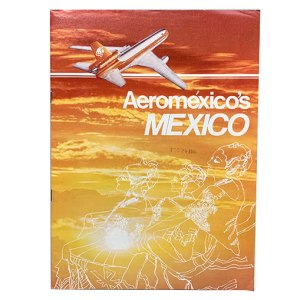 Aeromexico Airlines Mexico Destinations Brochure