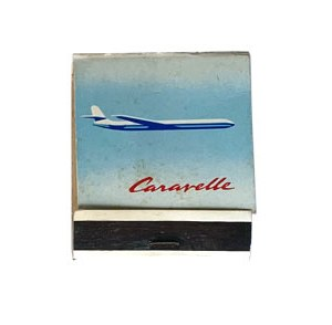 Air France Matchbook Cover