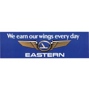 EAL Earn Our Wings Bumper Sticker