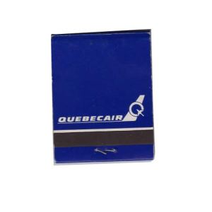 Quebecair Matchbook Matches