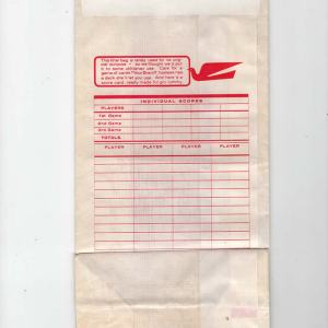 Braniff International Air/Motion Sickness Bag (10″)