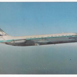 North Central Airlines DC-9-15 Postcard