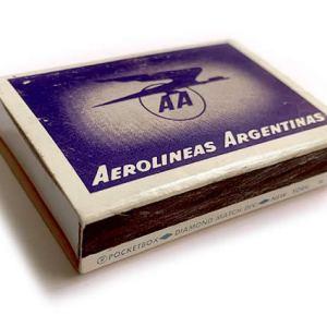 Aerolíneas Argentinas Matchbox Matches