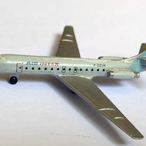 Air Inter Super Caravelle 1:600 Scale Model