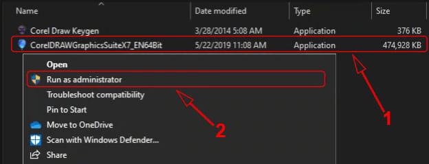Cara instal CorelDRAW X7 di Windows PC