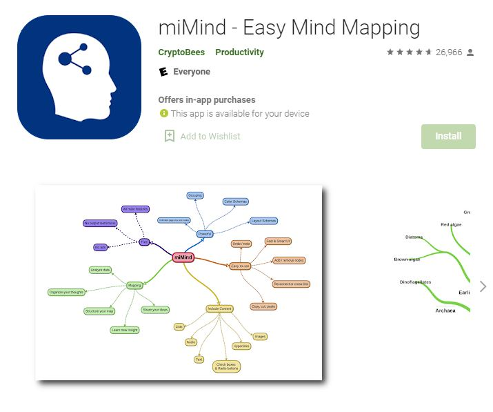 MiMind – Easy Mind Mapping