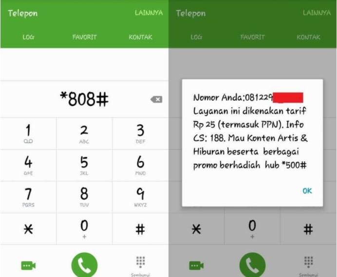 cara Cek Nomor Telkomsel Kode Dial