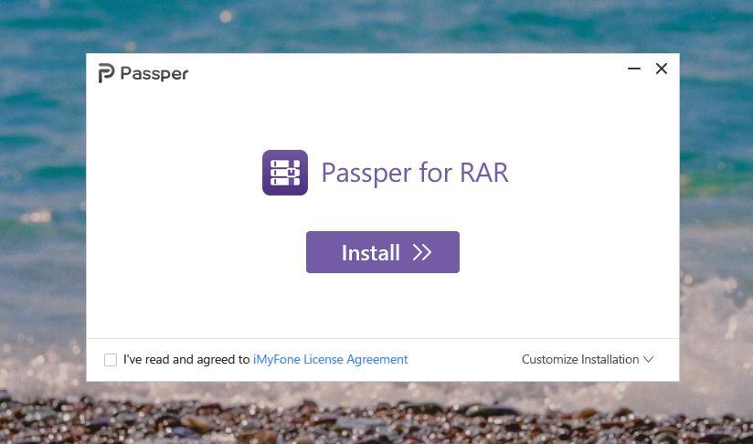Passper RAR Password Unlocker