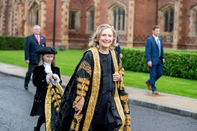 PHOTOS: Hillary Clinton Becomes Chancellor of UK Varsity