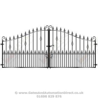 Short Metal Driveway Gates